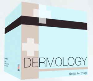 a bottle of dermology acne fighting medication