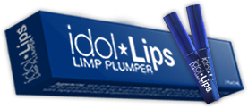 a box of idol lips lip plumper