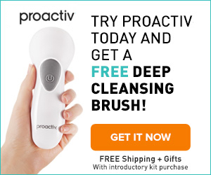 get a free proactiv acne brush
