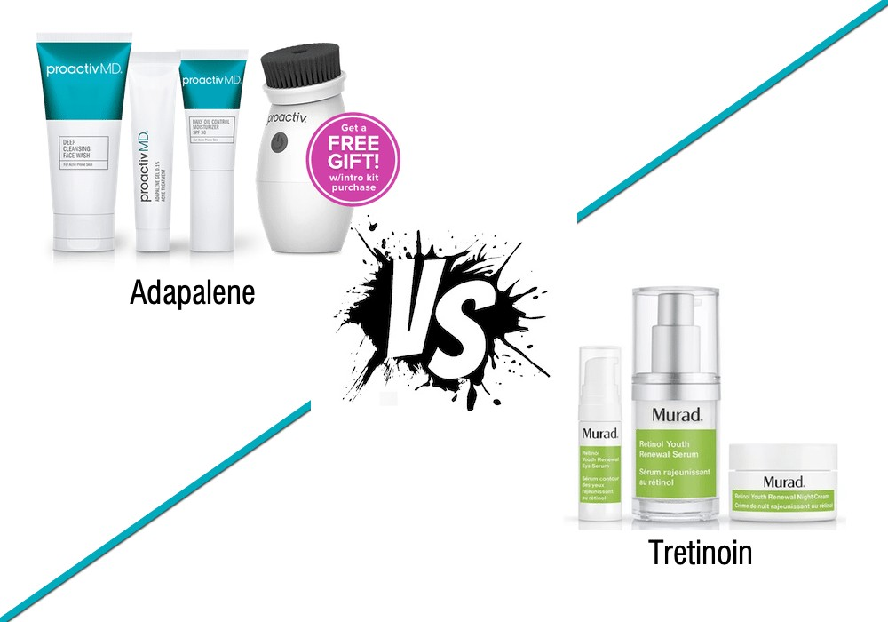 is adapalene or tretinoin better