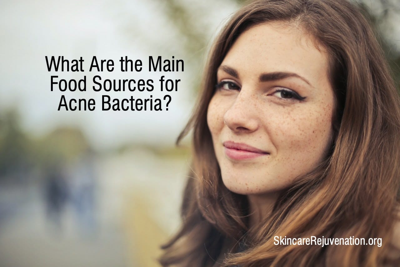key food sources for acne bacteria