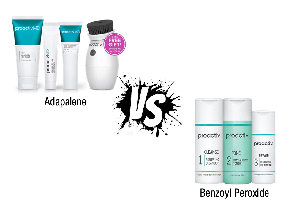 is adapalene or benzoyl peroxide better for acne