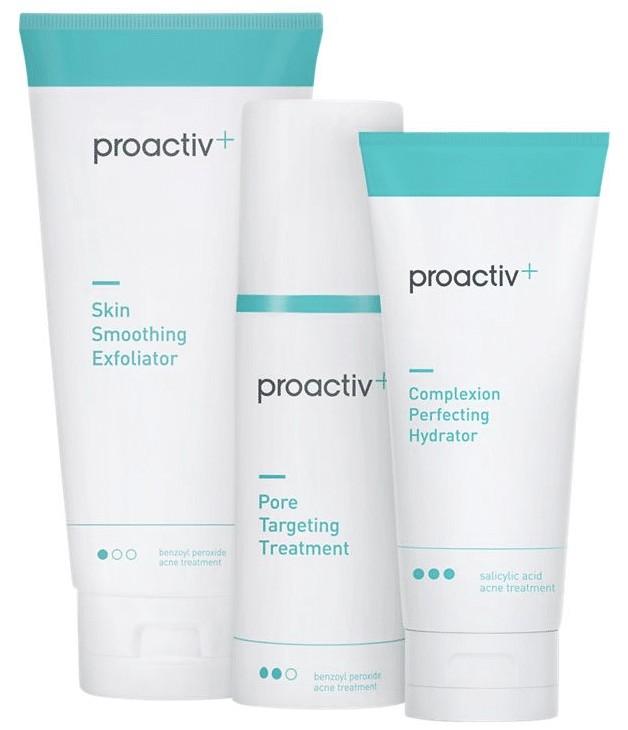 the proactiv plus 3 stepy stystem