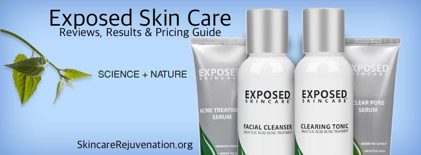 exposed skin care reviews results pricing guide