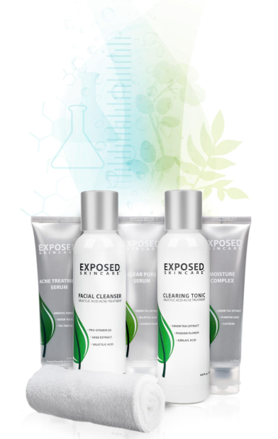 the exposed skin care acne treatment system