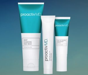 their three step treatment for acne